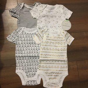 Baby Girl Onesies (Never worn)